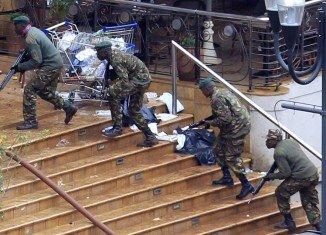 Kenya's President Uhuru Kenyatta has announced that the four-day siege involving suspected Islamist militants at Nairobi's Westgate shopping centre is over