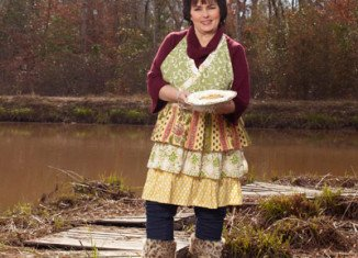 Miss Kay Robertson spoke at the Night of Ducks and Hucks fundraising event in Monroe, North Carolina