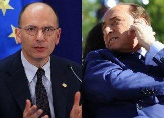 PM Enrico Letta plans to hold a confidence vote on Wednesday after five ministers from Silvio Berlusconi's party stepped down