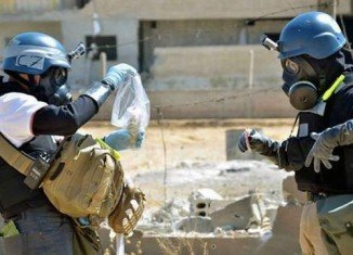 Russia has handed over to the US its plans for making Syria's chemical weapons safe