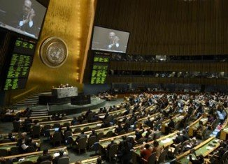 Speaking at the UN General Assembly's annual meeting, Barack Obama urged for diplomatic push on Iran nuclear programme