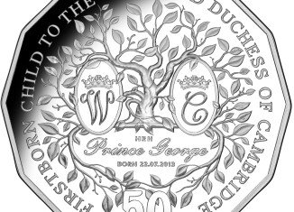 The first Royal Australian Mint coin dedicated to Prince George Alexander Louis
