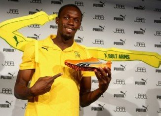Usain Bolt has renewed his sponsorship deal with kit-maker Puma until after the 2016 Games in Rio de Janeiro