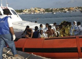 At least 130 migrants have died and many more are missing after a boat carrying them to Europe sank off the southern Italian island of Lampedusa