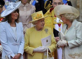 Camilla Parker-Bowles is reportedly hating to spend time with the Middletons, and she believes it's below her station to associate with them