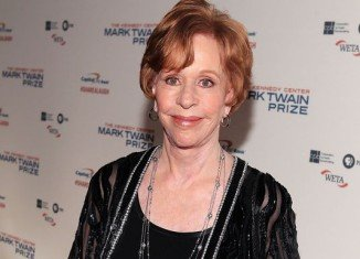 Carol Burnett has been honored with the Mark Twain Prize for American Humor