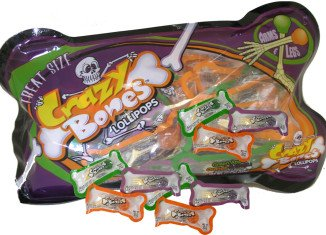 Halloween Crazy Bones Lollipops