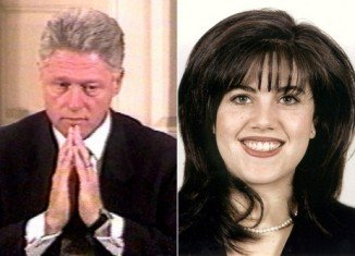 During 1995 government shutdown, Monica Lewinsky was allowed to spend some quality time with President Bill Clinton