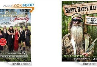 Five books from the Robertson family already are out, including such top sellers as Happy, Happy, Happy and The Duck Commander Family