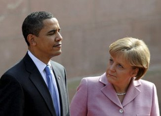 German media say the US has been tapping Angela Merkel's phone since 2002, and Barack Obama was told in 2010