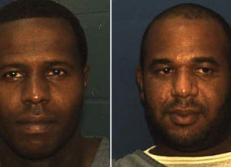 Joseph Jenkins and Charles Walker, both 34, were seized without incident at a motel in Panama City, Florida