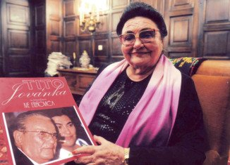Jovanka Broz became first Tito's personal secretary, then his third wife in 1952