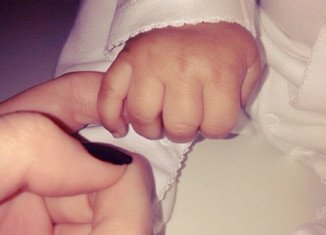 Kendall Jenner shared a new photo of baby North West via Instagram