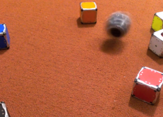 M-Blocks, cube-shaped robots that can flip, jump and assemble themselves into different shapes