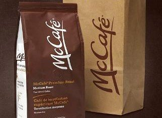 McDonald's will test selling a variety of packaged ground and whole-bean coffee at supermarkets and other retail outlets starting next year