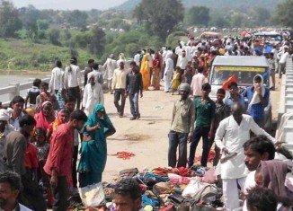 Navratri festival stampede death toll in Madhya Pradesh has risen to 109