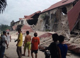 Philippines earthquake struck below the island of Bohol, where the most casualties were reported
