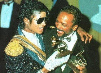 Quincy Jones produced some of Michael Jackson's top discs including Off the Wall and Thriller