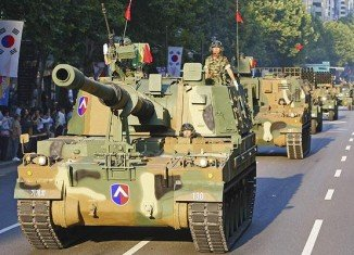 South Korea is staging its largest military parade in a decade