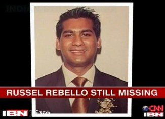 The remains of Indian waiter Russel Rebello have been found on the third deck of the Costa Concordia cruise ship