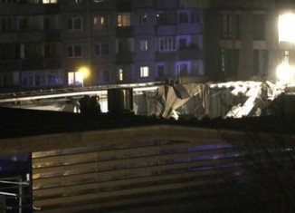 At least 50 people are feared trapped after Maxima store's roof collapsed in Riga