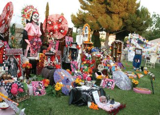Día De Los Muertos is one of Mexico's traditional holidays reuniting and honoring beloved ancestors, family and friends