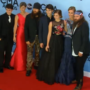 Duck Dynasty cast on the red carpet at CMA Awards 2013