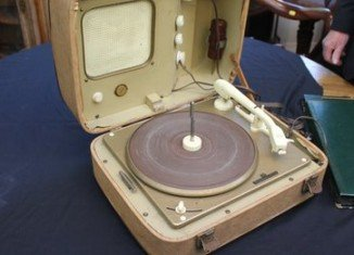 Elvis Presley gave the record player to a German woman as a wedding present more than 50 years ago