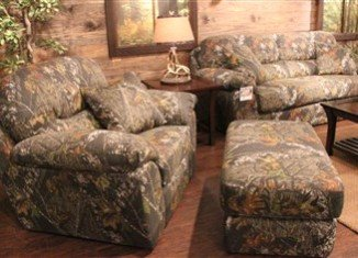 Jackson Furniture debuted its Duck Dynasty upholstery collection at the Fall High Point Furniture Market
