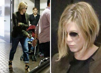 Jennifer Aniston debuted her bob-like hairdo while running errands in Los Angeles