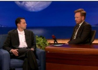 Jon Cryer made a confession about his hair during an appearance on Conan show