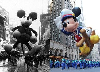 Macy's Thanksgiving Day Parade was first held in 1924 and has been canceled only thrice due to rubber shortages during World War II