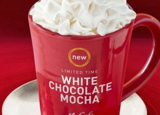 McDonald's is debuting the McCafé White Chocolate Mocha
