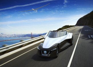 Nissan plans to reveal the new deltoid-shaped BladeGlider concept vehicle at the upcoming 43rd edition of Tokyo Motor Show