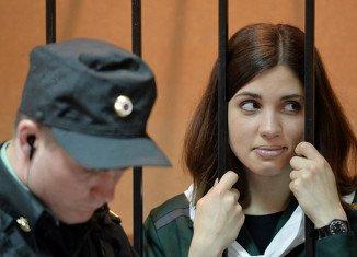 Pussy Riot's Nadezhda Tolokonnikova has been found in a prison hospital in western Siberia
