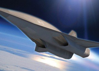 The unmanned SR-72 will use an engine that combines a turbine and a ramjet to reach its top speed of Mach 6