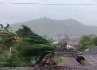 Typhoon Haiyan, one of the worst storms on record, destroyed homes, schools and an airport in the eastern city of Tacloban