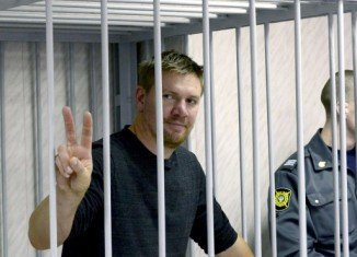 Anthony Perrett was in the group of 28 Greenpeace activists arrested after they staged a protest at a Russian offshore oil rig