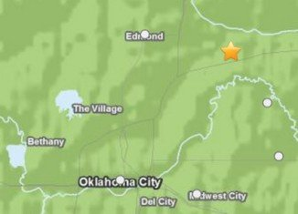 Central Oklahoma has been hit by a 4.5-magnitude earthquake on Saturday