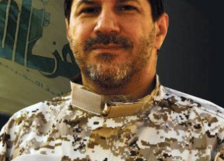 Hassan Lakkis was reputedly close to Hezbollah leader Hassan Nasrallah