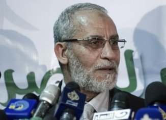 Muslim Brotherhood leader Mohammed Badie has appeared in court for the first time since his arrest in August