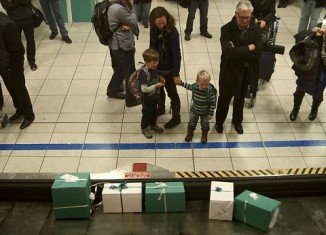 Passengers aboard two WestJet flights from southern Ontario to Calgary in November got their holiday gift wishes granted as they flew across Canada