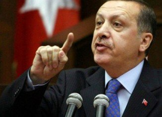 """Recep Tayyip Erdogan has denounced the corruption inquiry as a """"dirty operation"""" against his government"""