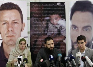 Spanish journalists Javier Espinosa and Ricardo Garcia Vilanova have been kidnapped in Syria