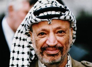 Yasser Arafat fell violently ill in October 2004 at his compound