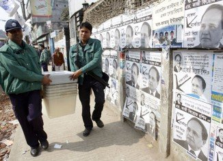 At least 18 people died during Bangladeshi elections and dozens more in the run-up