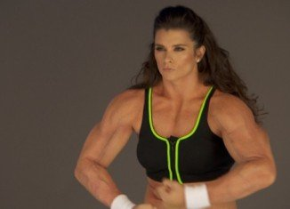 Danica Patrick's dramatic weight gain was for a new Go Daddy commercial in which she races gigantic men to a tanning salon