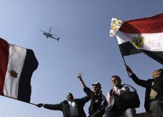 Egypt marks the third anniversary of the 2011 uprising which ended with the overthrow of President Hosni Mubarak