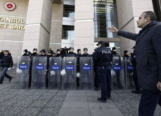 Hundreds of police have been dismissed or reassigned across Turkey since last month's corruption investigation