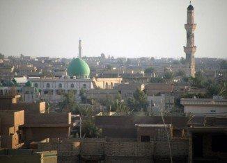 Iraqi army has lost control of the strategic city of Fallujah, west of Baghdad
